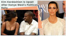Kim Kardashian is not happy After Kanye West's Rally